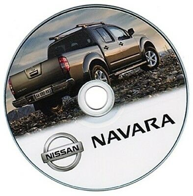 Nissan Navara manuale officina workshop manual