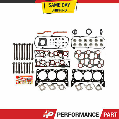 Head Gasket Bolts Set 01/15/1998-04 Ford Mustang F150 3.8 & 4.2 OHV VIN 2, 4, 6