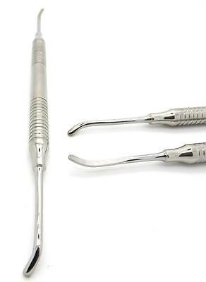 Dental Elevator Double Ended Periosteal Implant Instrument HOLLOW HANDLE Tools