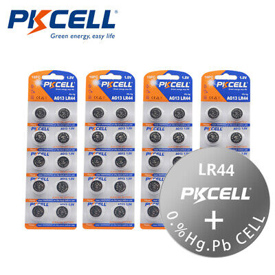30x AG13 Batteries LR44 L1154 357 A76 AG 13 Alkaline Button Coin Cell in Blister