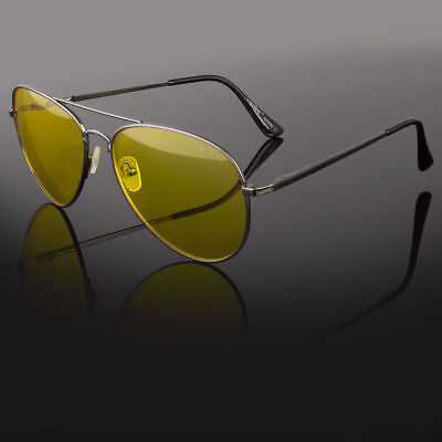 New Mens Sunglasses Grey Crystal Holbrook Style Black Mirror Lens Vintage Fashio