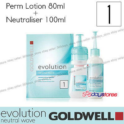 "Goldwell Evolution Perm Neutral Wave Lotion ""Type 1"" For normal to fine natural"