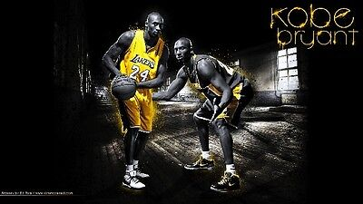 KOBE BRYANT Photo Quality LAKERS Poster - Choose a Size!  #12