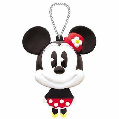 Disney Minnie Mouse Keychain Figure From Japan Mascot with ball chain