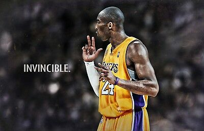 KOBE BRYANT Photo Quality LAKERS Poster - Choose a Size!  #04