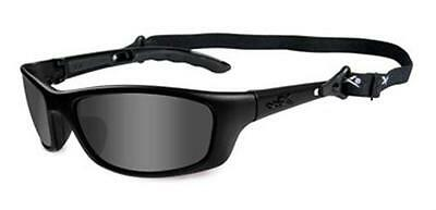 Wiley X Black Ops Matte Black Frame Smoke Grey Lenses Sunglasses Size S-M #P-17M