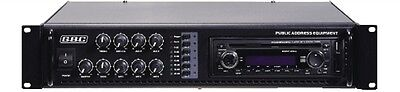 Amplificatore Professionale 100V / 180W A 6 Zone Con Mp3 61.6112.50