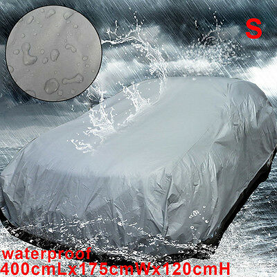Universal Small Size S Full Car Cover UV Protection Waterproof Breathable New