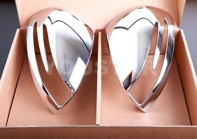 Mercedes Benz R172 Slk 200 230 250 350 55 Amg Chrome Door Mirror Cover Trims