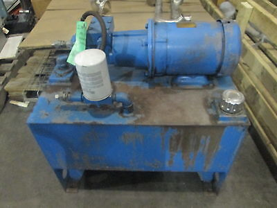 Hydura Piston Pump X81Cm36145 With 3Hp Baldor Motor And Tank
