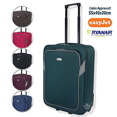 ARIANA EasyJet Ryanair Lightweight Hand Luggage Cabin Travel Bag 55 x 40 x 20 cm