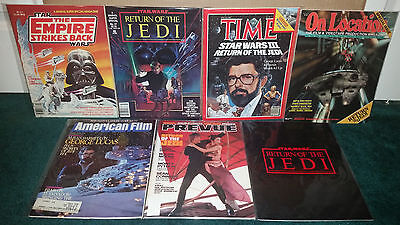 Star Wars Magazine Marvel Time George Lucas On Location America Film Preview +