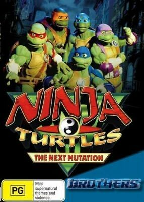 Ninja Turtles - The Next Mutation - Brothers : Vol 4 (DVD, 2014) R4