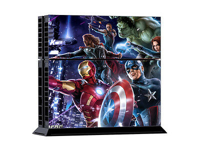 Avengers Heroes 0352 DECAL SKIN PROTECTIVE STICKER for PS4 CONSOLE CONTROLLER