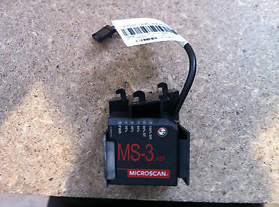 Microscan MS-3 Laser 23R3719 Selling AS IS Not Tested