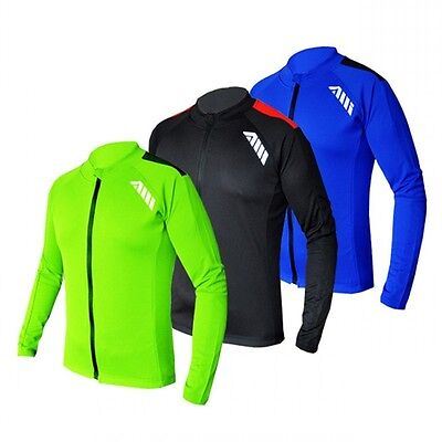 AUTULA  Men's Outdoor Cycling Bike Bicycle Long Sleeve Jersey Sports Clothing