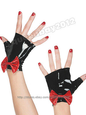 Neu!! 100% Latex Rubber Gummi 0.45mm Gloves Handschuhe Handmade Suit Krawatte