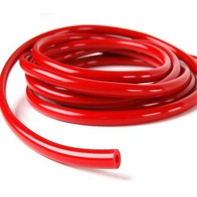 """One Meter Universal Red Colour 5/16"""" (0.32"""")Inch 8mm Silicone Vaccum Hose Pipe"""