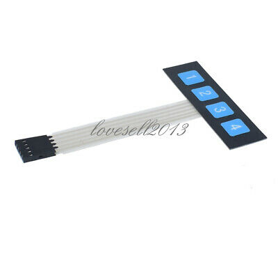 Back To Search Resultselectronic Components & Supplies 2019 Fashion 10pcs 1x4 4 Key Matrix Membrane Switch Keypad Keyboard Control Panel Scm Extended Keyboard Super Slim Active Components