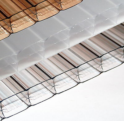 16mm Polycarbonate Roofing Sheet Clear Bronze Opal rr