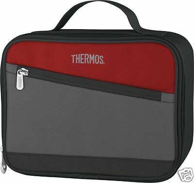 Thermos Essentials Insulated Picnic Camping Cool Bag Burgundy Assorted Sizes