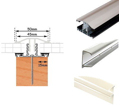 Timber Support Polycarbonate Roof Bars Fit 10mm 16mm & 25mm Sheet White Brown rr