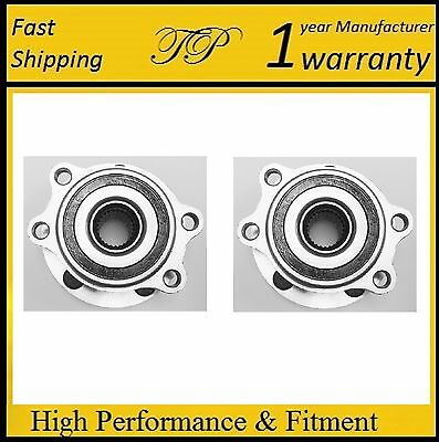 Pair of Front L&R Wheel Hub Bearing Assembly for LEXUS IS250 (AWD) 2006-2013
