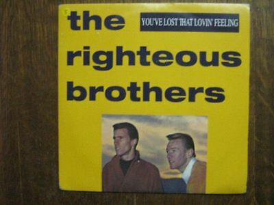 The Righteous Brothers 45 Tours France You've Lost