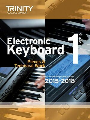 Trinity College Keyboard Exam Pieces Grade 1 from 2015 - Same Day P+P
