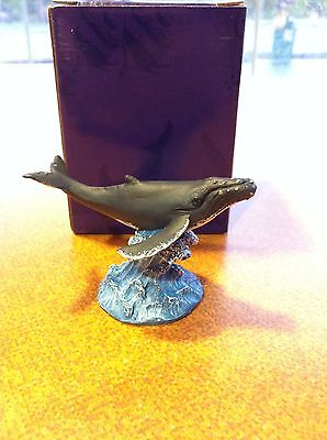 "2""x3"" Humpback Whale ""Glory"" from Wyland ~ New in box"