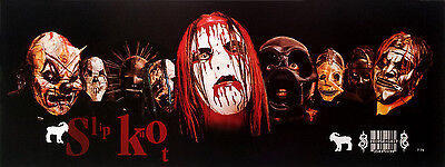 "Slipknot (1995-Now) POSTER 15""x40"" American Rock Punk Alternative Heavy Metal v5"