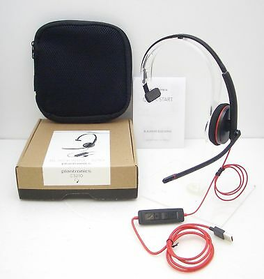 Plantronics Audio 646 DSP Neckband USB Noise-Canceling Microphone Headset  - NEW