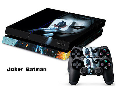 JOKER BATMEN COOL DECAL SKIN PROTECTIVE STICKER for SONY PS4 CONSOLE CONTROLLER