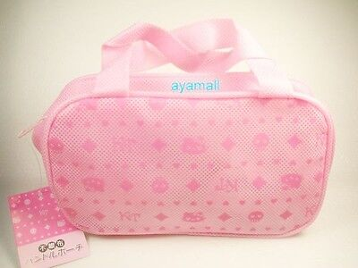 Sanrio Japan Hello Kitty hand-bag shaped makeup bag-pk