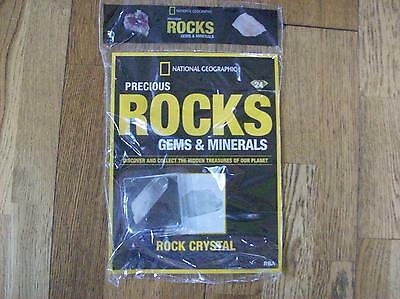 National Geographic Precious Rocks Gems & Minerals Magazine 24 Rock Crystal