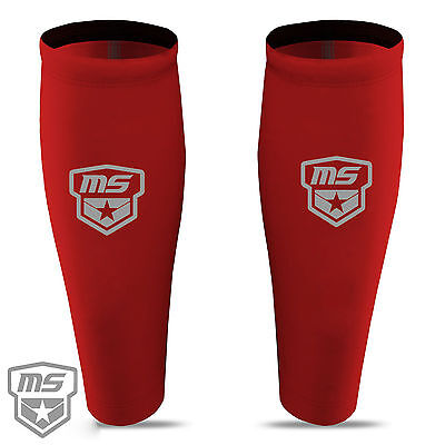 Running Compression calf guard leg warmer support base layer MS Sports