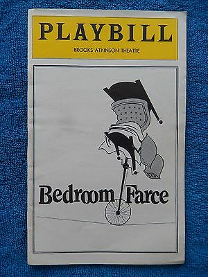 Bedroom Farce - Brooks Atkinson Theatre Playbill - May 1979 - Polly Adams