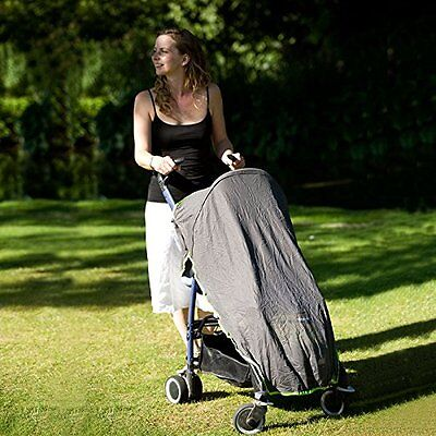 Sun/Sleep/Snooze/Nap Blackout Net Shade Cover for Buggy/Pushchair/Stroller
