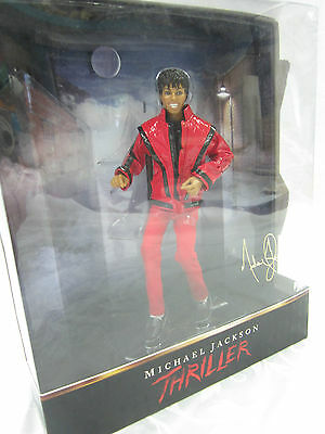 """Micheal Jackson Thriller 10"""" Deluxe Articulated Figure Doll Playmates New Sealed"""