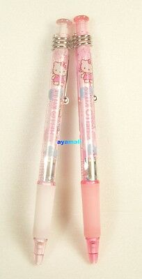 Sanrio Hello kitty mechanical pencil set w/clip-2pcs
