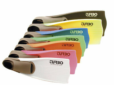 Land & Sea Hire-Turbo Thermo Colour Coded Fins - Multiple Sizes Available