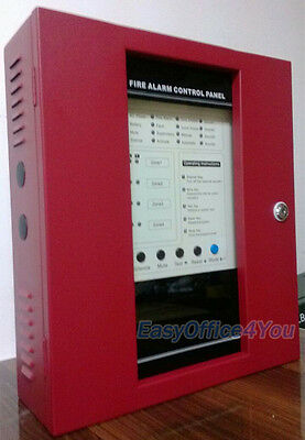 4 Zones Conventional Fire Alarm Control Panel Fire Alarm Control System Panel