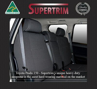TOYOTA PRADO 150 Series Premium Neoprene Waterproof Wetsuit REAR Seat Cover