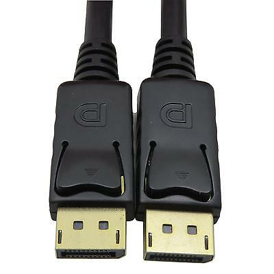 6FT Display Port Male To DisplayPort Male DP Cable PC
