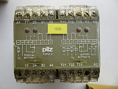 Pilz 474390 Safety Relay P2HZ5 24VDC VGC!!! Free Shipping