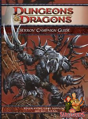 Eberron Player's Guide ~4th Edition~ Dungeons & Dragons  ✰Sarge &  Red's✰  D&D 2