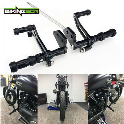 Billet CNC Forward Controls Foot Pegs For HARLEY DYNA LOW RIDER FXDL 2000 - 2013