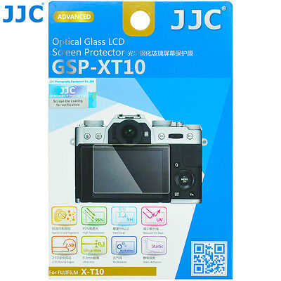 JJC 0.3 Optical Tempered Glass Screen Protector fr FUJIFILM X-T10 20 X-T100 X-E3