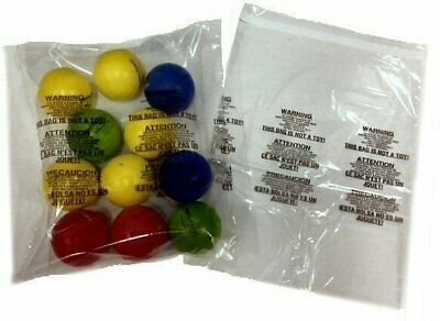 1000 12 x 16 Self Seal Suffocation Warning Clear Poly Bags 1.5 mil  Free Ship
