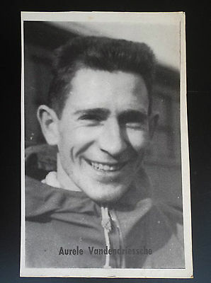 CP carte postale Lotto photo Cyclisme Aurele Vandendriessche  No tour de France